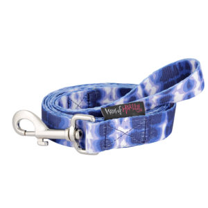 haus-of-harley-shibori-designer-dog-lead-leash-indigo-blue