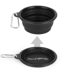 Pop-up Silicone Travel Bowl - Black