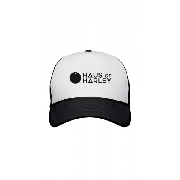Haus of Harley Trucker Cap - Black