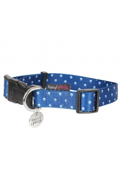 SKULL-KA DOT Collar - Navy
