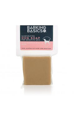 Barking Basics Dog Soap for Sensitive Skin 120g