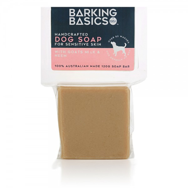 Barking Basics Dog Soap for Sensitive Skin 120g
