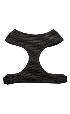 Barking Basics Soft Mesh Harness - Black
