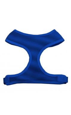 Barking Basics Soft Mesh Harness - Blue