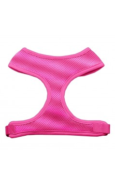 Barking Basics Soft Mesh Harness - Pink