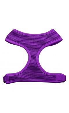 Barking Basics Soft Mesh Harness - Purple
