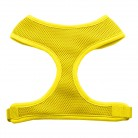 Barking Basics Soft Mesh Harness - Yellow