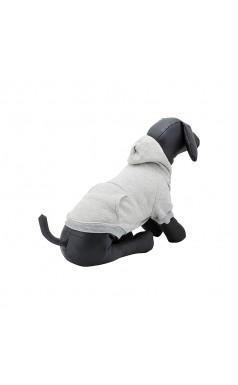 #HASHTAG Hoodie dog jumper - Grey Marle